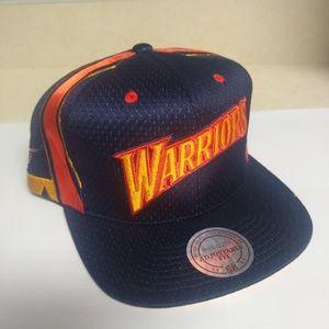 GS Warriors Throwback Snapback Design